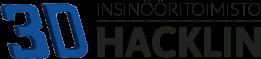 3D Hacklin logo